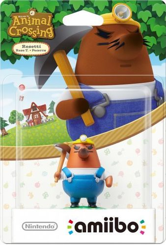 Figura Amiibo Rese T. (Serie Animal Crossing)