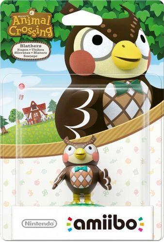 Figura Amiibo Sócrates (Serie Animal Crossing)