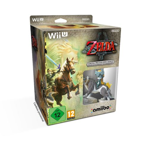 The Legend of Zelda: Twilight Princess HD Edición Limitada wiiu