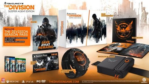 The Division Edicion Coleccionista Sleeper Agent Ps4
