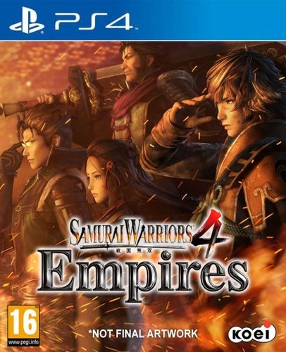 Samurai Warriors 4: Empires Ps4