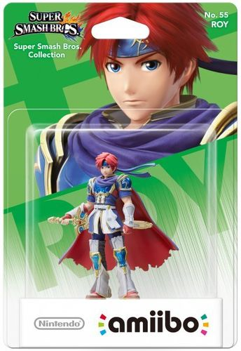 Figura Amiibo Roy (Serie Super Smash Bros.)