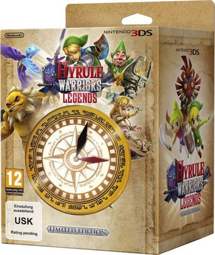 Hyrule Warriors: Legends Edición Coleccionista 3Ds