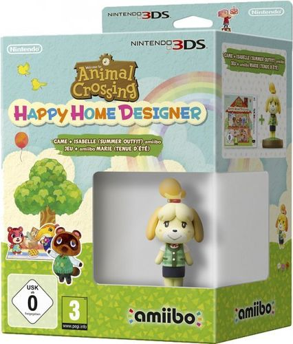 Animal Crossing: Happy Home Designer + amiibo Canela Verano 3Ds