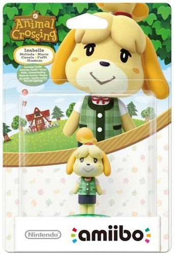 Figura Amiibo Canela Verano (Serie Animal Crossing)