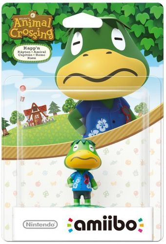 Figura Amiibo Capitán (Serie Animal Crossing)