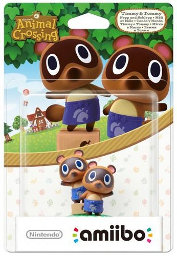 Figura Amiibo Tendo y Nendo (Serie Animal Crossing)
