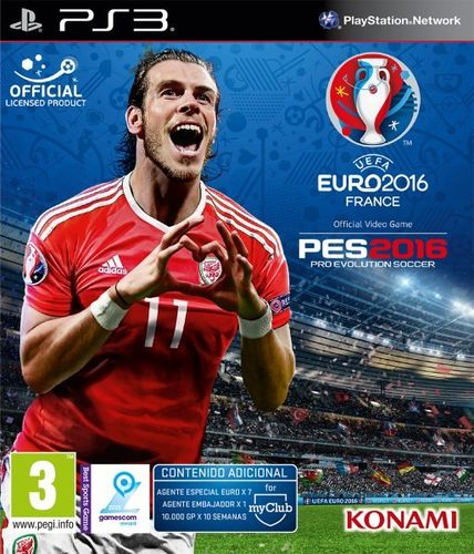 Pro Evolution Soccer UEFA Euro France 2016 PS3