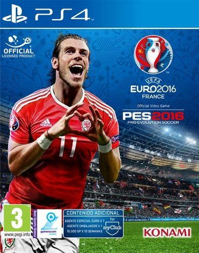 Pro Evolution Soccer UEFA Euro France 2016 PS4