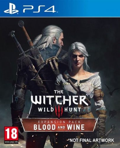 The Witcher 3: Wild Hunt Blood and Wine Expansion PS4