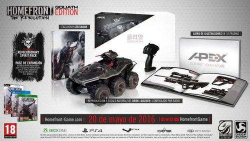 Homefront: The Revolution Edición Goliath PS4