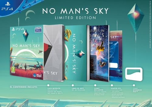 No Man's Sky PS4 Edicion Limitada PS4