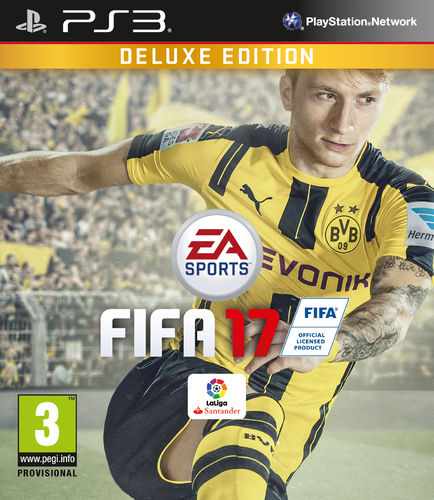 Fifa 17 Deluxe Edition PS3