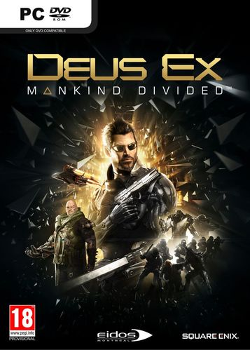 Deus Ex: Mankind Divided Day One Edition PC