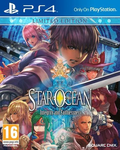 Star Ocean: Integrity & Faithlessness Edición Limitada PS4