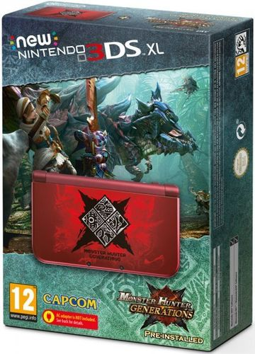 Consola New Nintendo 3DS XL + Monster Hunter Generations