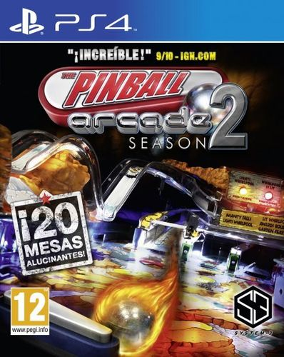 Arcade Pinball Season 2 PS4