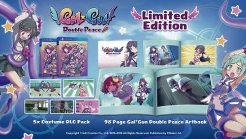 Gal Gun Double Peace Ed. Limitada  PS4