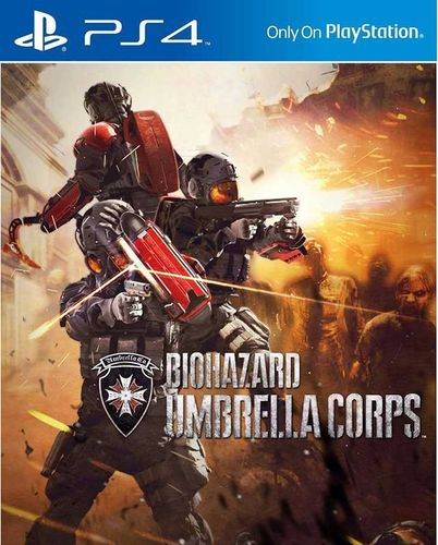 Resident Evil Umbrella Corps PS4