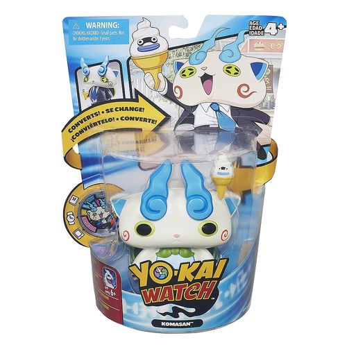 Figura Komasan Yo-Kai Watch transformable