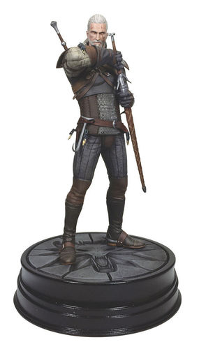 Figura Geralt de Rivia The Witcher III Wild Hunt