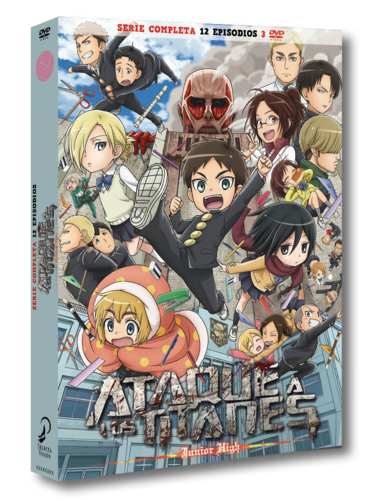 Ataque Titanes Junior High - Completa - DVD