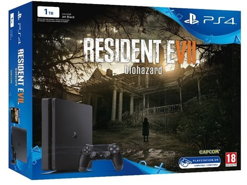 Consola Ps4 Slim 1Tb + Resident Evil 7