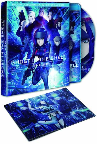 Ghost in the Shell The Rising Ed.Coleccionista BR