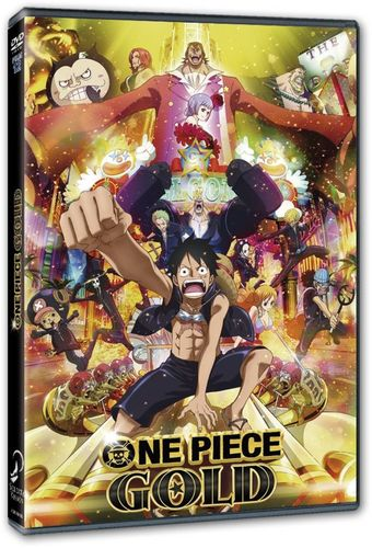 One Piece Pelicula 12 Gold DVD