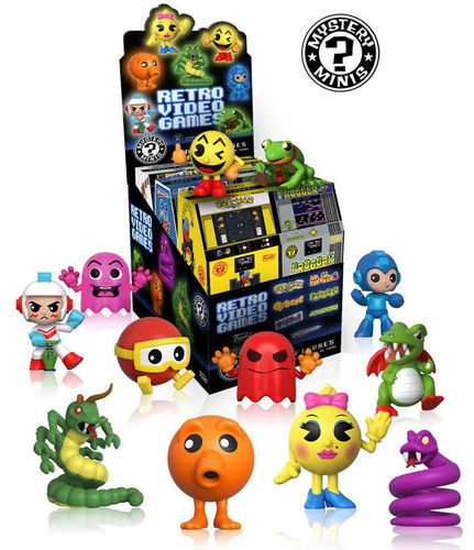 Minifiguras Retro Video Games Mysteri