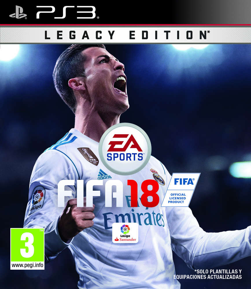 Legacy Impact 18 Ps3 Edition Fifa Game PkZXuiTO