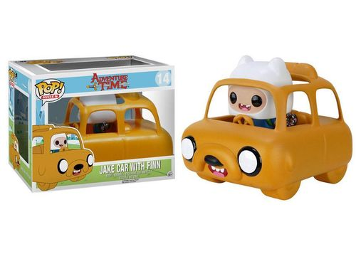Figura POP Jake car with Finn