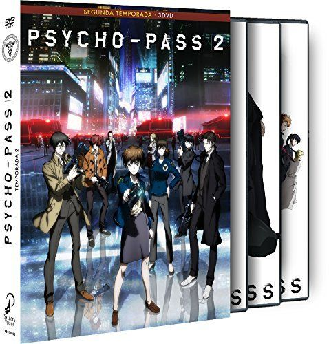Psycho-Pass Temporada 2 DVD