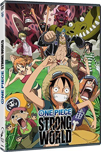 One Piece Pelicula 10 Strong World DVD