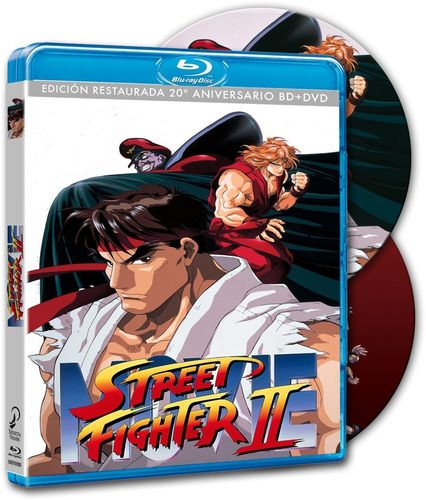 Street Fighter II The Movie Combo BR + DVD