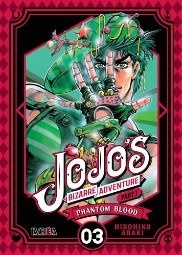 Jojo's Bizarre Adventure Phantom Blood Nº3