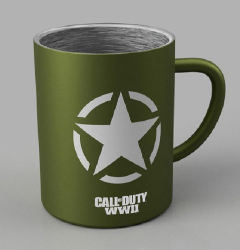 Taza Freedom Star Steel