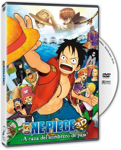 One Piece Pelicula Especial TV 3D DVD