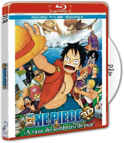 One Piece Pelicula Especial TV 3D BR