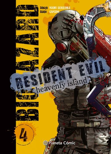 Resident Evil Heavenly Island Nº4