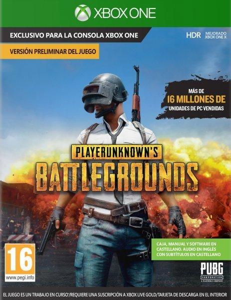 Playerunknown S Battlegrounds Pubg Codigo Digital Xbox One