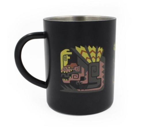 Taza Monster Hunter Steel