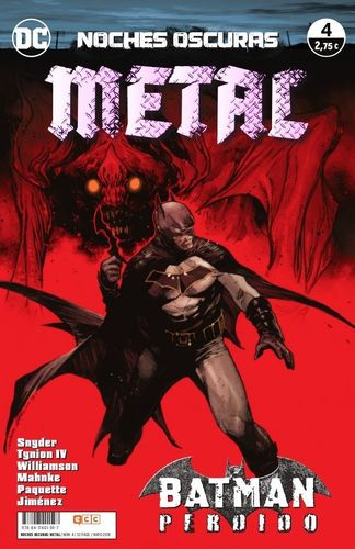 Noches Oscuras: Metal Nº04