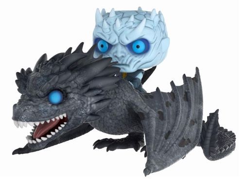 Funko Pop Night King & Icy Viserion