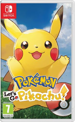 Pokemon Let's Go Pikachu! SWITCH