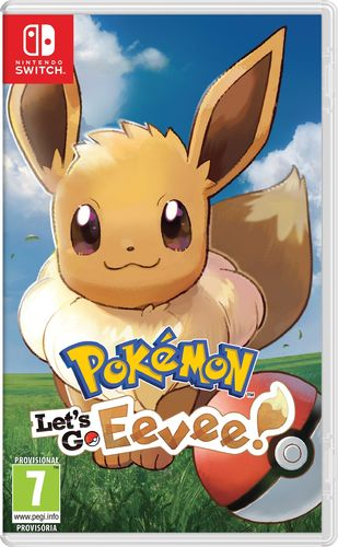 Pokemon Let's Go Eevee! SWITCH
