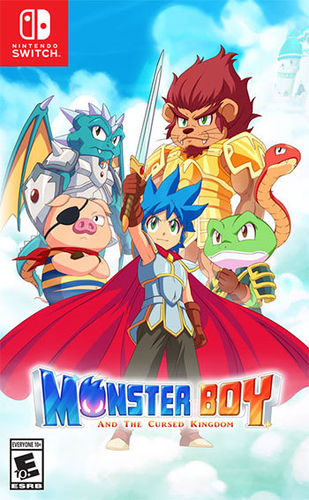 Monster Boy and the Cursed Kingdom SWITCH