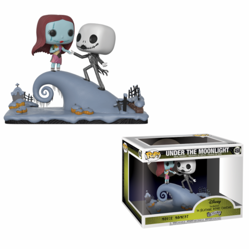 Funko Pop Jack and Sally Under the Moonlight