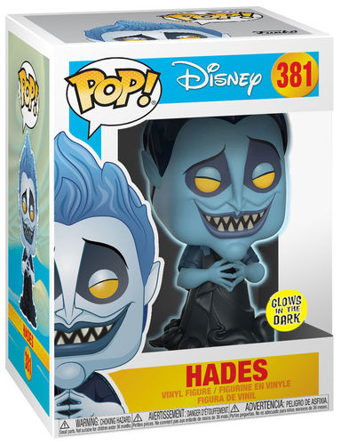 Funko Pop Hades Glows in the Dark Hercules