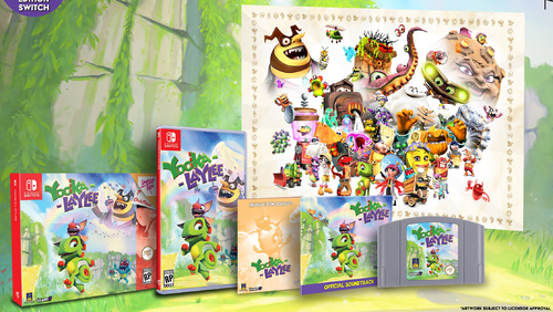 Yooka-Laylee Collector's Edition SWITCH